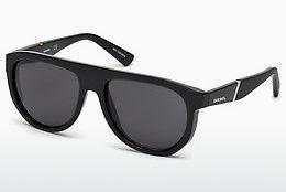 Ophthalmics Diesel DL0255 01A - Black, Shiny