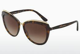 Ophthalmics Dolce & Gabbana DG4304 502/13 - Brown, Havanna