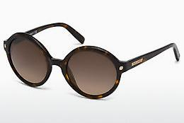 Ophthalmics Dsquared DQ0130 52F - Brown, Havanna