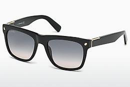 Ophthalmics Dsquared DQ0212 01B - Black, Shiny