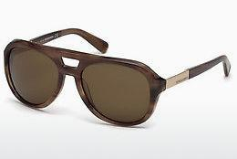 Ophthalmics Dsquared DQ0237 47E - Brown, Bright