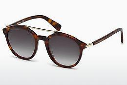 Ophthalmics Dsquared DQ0244 54B - Red, Brown, Havanna