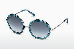 Ophthalmics Emilio Pucci EP0036 87W - Blue, Turquoise, Shiny