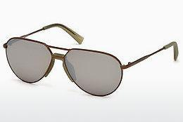 Ophthalmics Ermenegildo Zegna EZ0096 34G - Bronze, Bright, Shiny