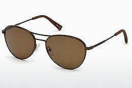 Ophthalmics Ermenegildo Zegna EZ0098 35L - Bronze, Bright, Matt