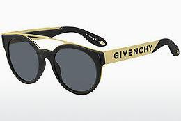 Ophthalmics Givenchy GV 7017/N/S 2M2/IR - Black, Gold