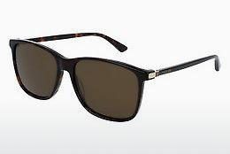 Ophthalmics Gucci GG0017S 002 - Brown, Havanna