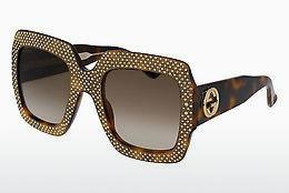 Ophthalmics Gucci GG0048S 002 - Brown, Havanna