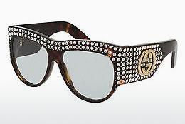 Ophthalmics Gucci GG0144S 001 - Brown, Havanna