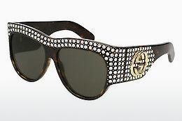 Ophthalmics Gucci GG0144S 002 - Brown, Havanna