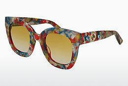 Ophthalmics Gucci GG0208S 006 - Blue, Red, Multi-coloured