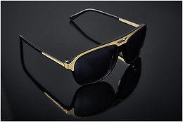 Ophthalmics JB by Jerome Boateng (Limited Edition) (JBS102 1) - Black, Gold