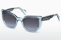 Ophthalmics Just Cavalli JC834S 84W - Blue, Azure, Shiny