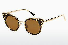 Ophthalmics Max Mara MM ILDE I 2PT/W4 - Gold, Brown, Havanna