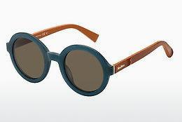Ophthalmics Max Mara MM TAILORED III LWS/8E - Blue, Orange