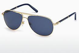 Ophthalmics Mont Blanc MB512S 28V - Gold