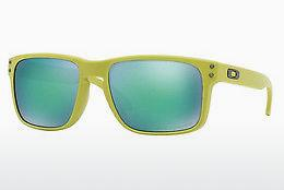 Ophthalmics Oakley HOLBROOK (OO9102 910272) - Green, Yellow