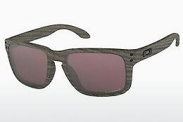 Ophthalmics Oakley HOLBROOK (OO9102 9102B7) - Brown