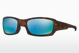 Ophthalmics Oakley FIVES SQUARED (OO9238 923817) - Brown, Havanna