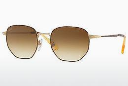 Ophthalmics Persol PO2446S 107551 - Gold, Brown, Havanna