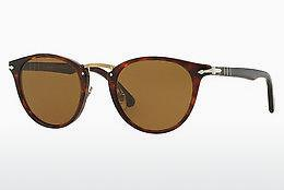 Ophthalmics Persol PO3108S 24/57 - Brown, Havanna