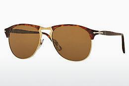 Ophthalmics Persol PO8649S 24/57 - Brown, Havanna