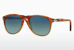 Ophthalmics Persol PO9649S 1025S3 - Brown, Havanna