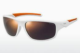 Ophthalmics Polaroid Sports PLD 7010/S IXN/OZ - White, Orange