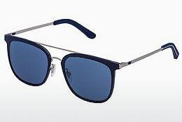 Ophthalmics Police SPL568 0SNF - Grey, Blue
