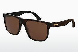 Ophthalmics Puma PU0104S 002 - Brown, Havanna