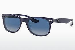 Ophthalmics Ray-Ban Junior Junior New Wayfarer (RJ9052S 70234L) - Blue, Transparent