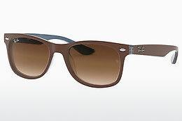 Ophthalmics Ray-Ban Junior Junior New Wayfarer (RJ9052S 703513) - Brown, Blue