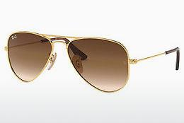Ophthalmics Ray-Ban Junior Junior Aviator (RJ9506S 223/13) - Gold