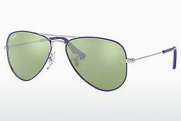 Ophthalmics Ray-Ban Junior Junior Aviator (RJ9506S 262/30) - Silver, Purple