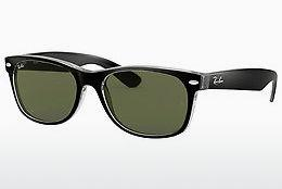 Ophthalmics Ray-Ban NEW WAYFARER (RB2132 6052) - Black, Transparent