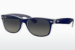 Ophthalmics Ray-Ban NEW WAYFARER (RB2132 605371) - Blue, Transparent