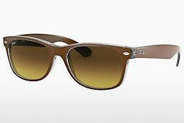 Ophthalmics Ray-Ban NEW WAYFARER (RB2132 614585) - Brown, Transparent