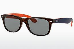 Ophthalmics Ray-Ban NEW WAYFARER (RB2132 6180R5) - Brown, Havanna
