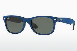 Ophthalmics Ray-Ban NEW WAYFARER (RB2132 6239) - Black, Blue