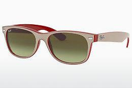Ophthalmics Ray-Ban NEW WAYFARER (RB2132 6307A6) - White, Red