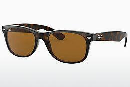 Ophthalmics Ray-Ban NEW WAYFARER (RB2132 710) - Brown, Havanna
