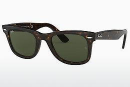 Ophthalmics Ray-Ban WAYFARER (RB2140 902) - Brown, Havanna