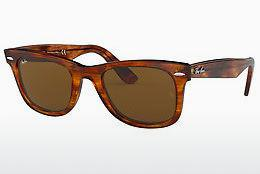Ophthalmics Ray-Ban WAYFARER (RB2140 954) - Brown, Havanna