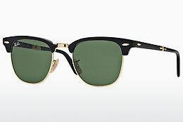 Ophthalmics Ray-Ban CLUBMASTER FOLDING (RB2176 901) - Black