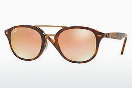 Ophthalmics Ray-Ban RB2183 1127B9 - Brown, Havanna, Yellow