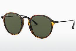 Ophthalmics Ray-Ban Round/classic (RB2447 1157) - Black, Brown, Havanna