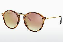 Ophthalmics Ray-Ban Round/classic (RB2447 11607O) - Brown, Havanna