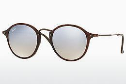 Ophthalmics Ray-Ban Round Flat Lenses (RB2447N 62569U) - Transparent, Brown