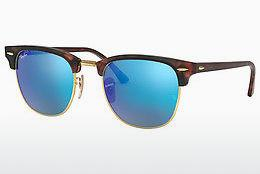 Ophthalmics Ray-Ban CLUBMASTER (RB3016 114517) - Brown, Havanna, Black, Sand