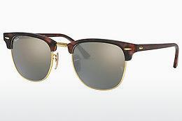 Ophthalmics Ray-Ban CLUBMASTER (RB3016 114530) - Brown, Havanna, Sand